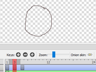 Onion skin in animation